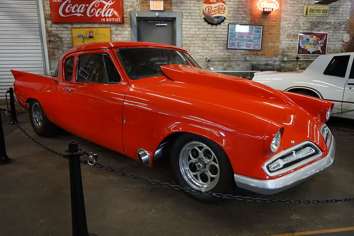 1957 Studebaker Silver Hawk 57G-C3 at the Four States Auto Museum