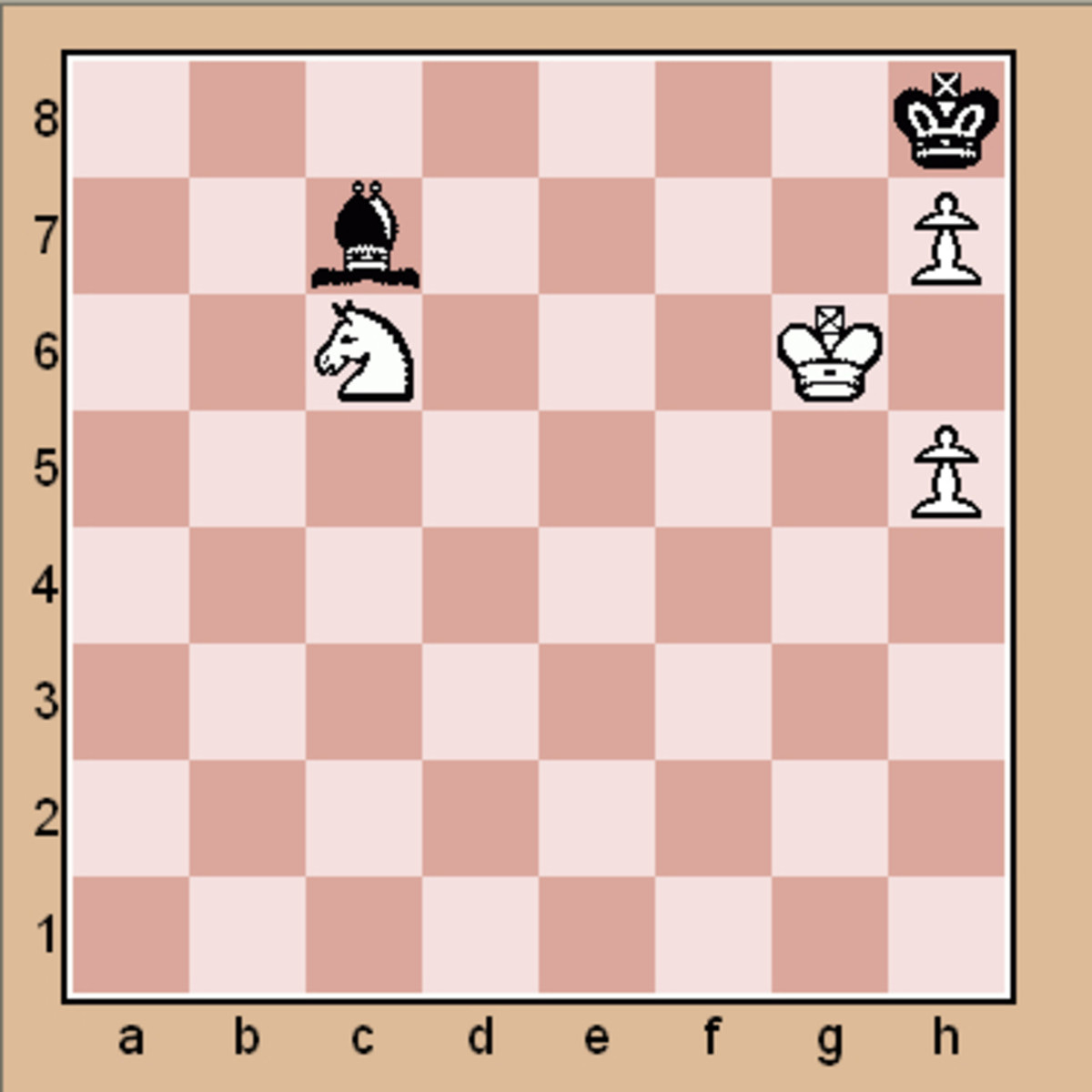 Advanced chess tactics puzzle. (Click to enlarge)