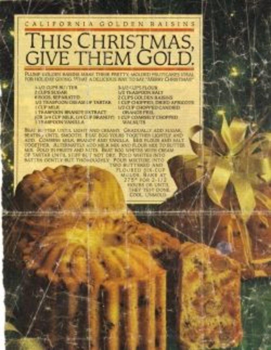 Golden Fruitcake: The Best Holiday-Fruitcake-Recipe Ever