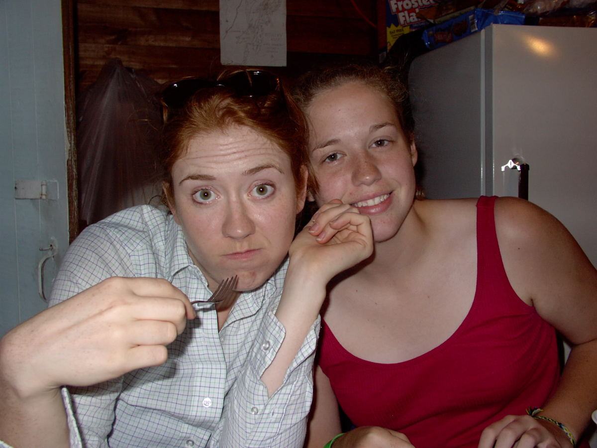 Too much bug spray and sunscreen I think. 2006