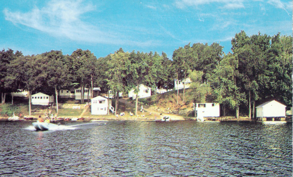 Bowers Camp on Bob's Lake