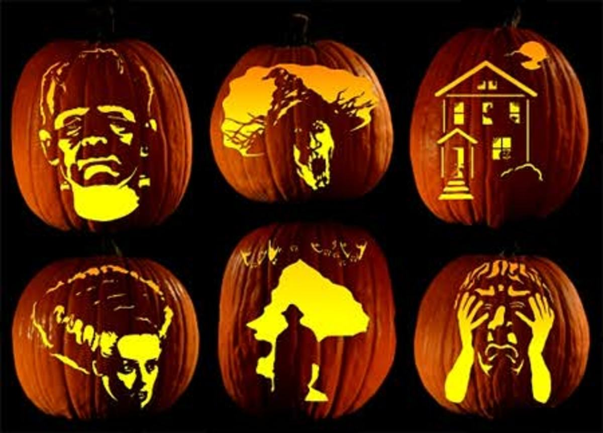 carve unusual designs into jack-o-lanturns