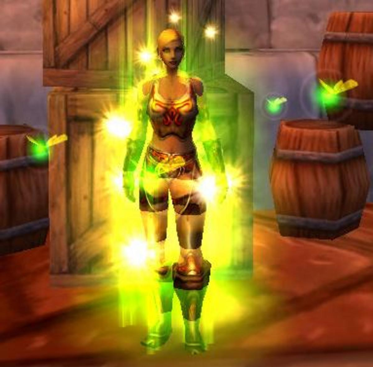 Paladin + Armour set + Druid = Unique shot