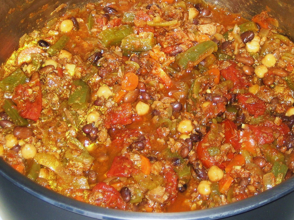 Homemade Chili: Vegetarian