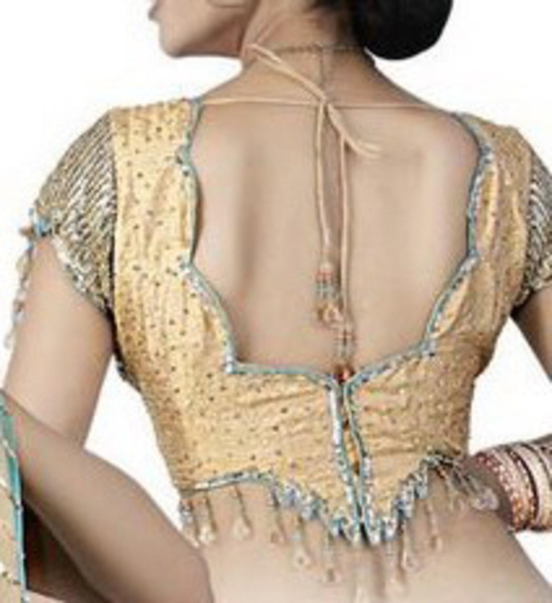 Saree Blouse design Back