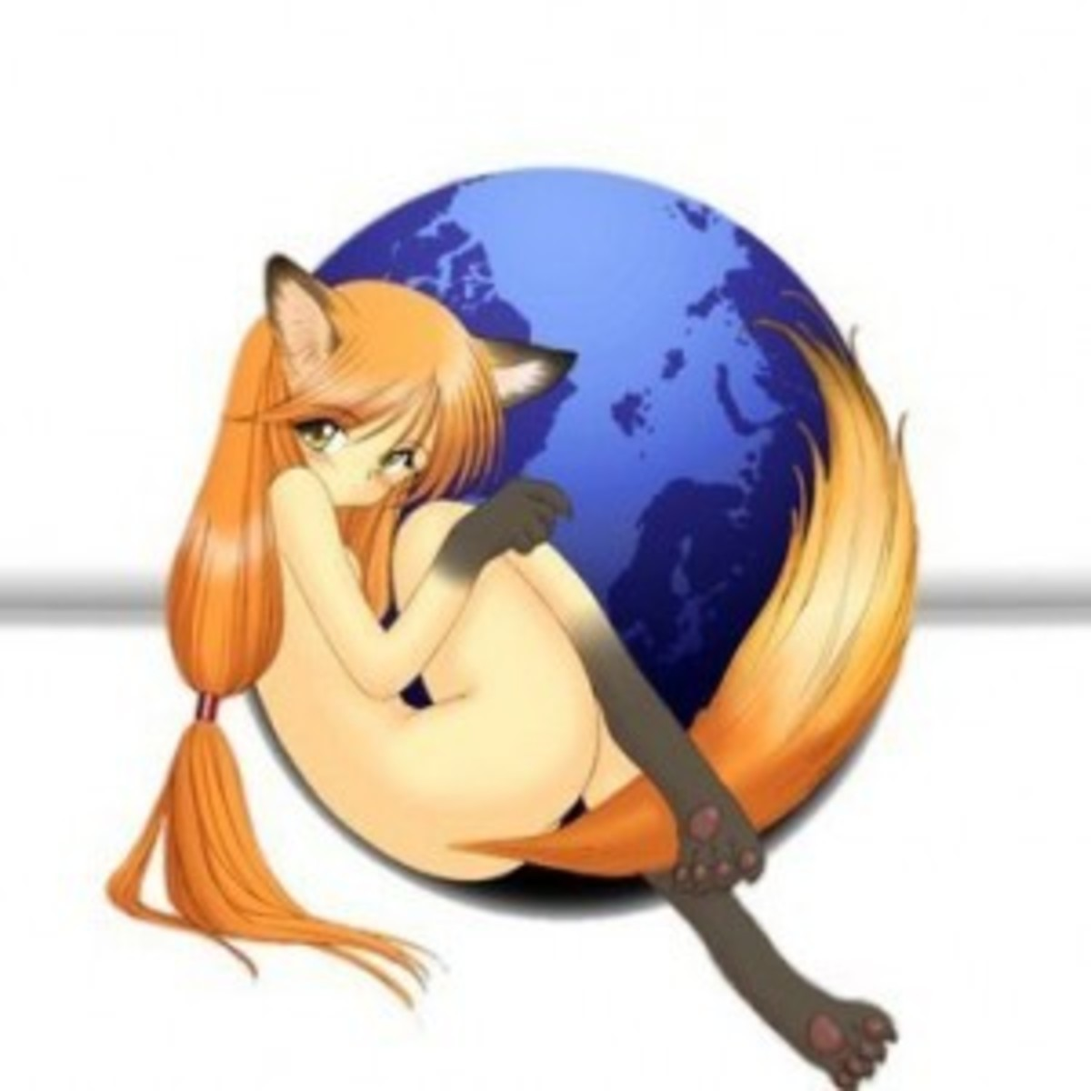 More then 40 of the BEST Anime Mozilla Firefox Girl Icons and Art!