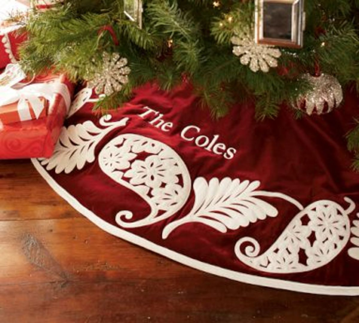 Personalized Christmas Tree Skirt Hubpages