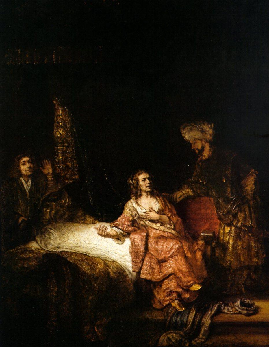 Potifar's wife.