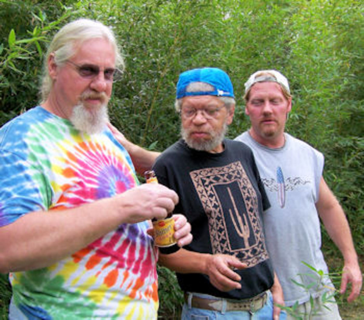 Bob Cargill, Geoff Outlaw, and Mark