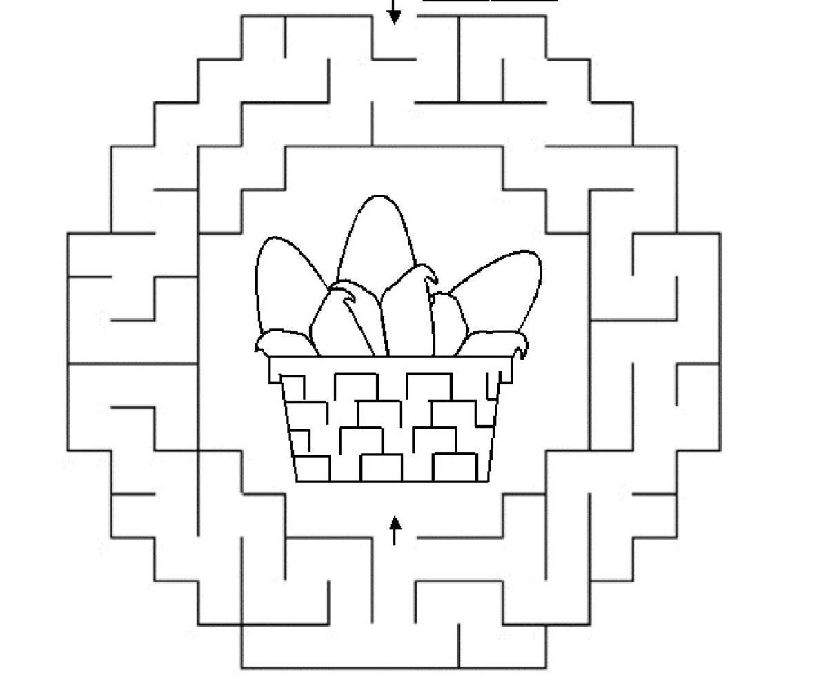 Printable simple mazes for kids - School of Game DesignFree Printables