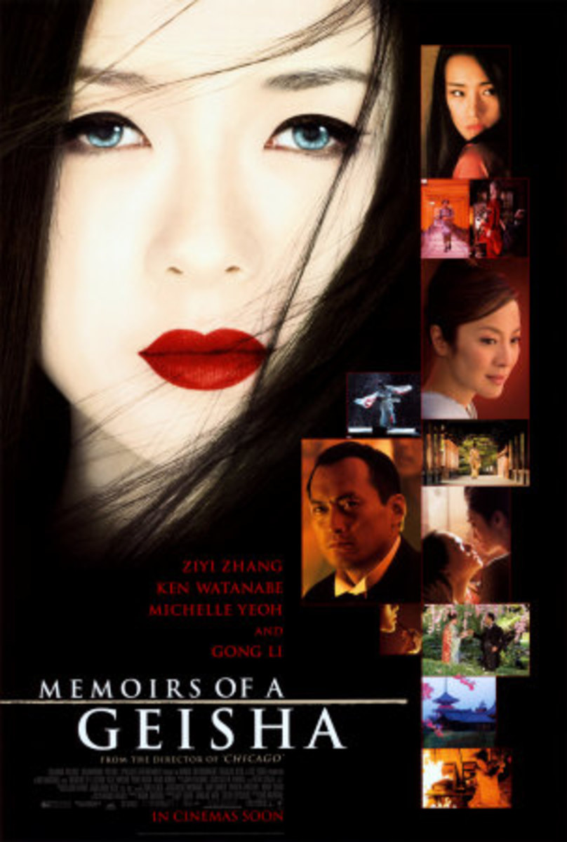 """""""MEMOIRS OF A GEISHA"""" where GONG LI, ZHANG ZIYI AND MICHELE YEOH are together"""