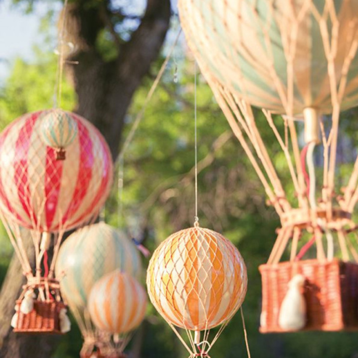 Hang the balloons inside or out for a fabulous party theme!