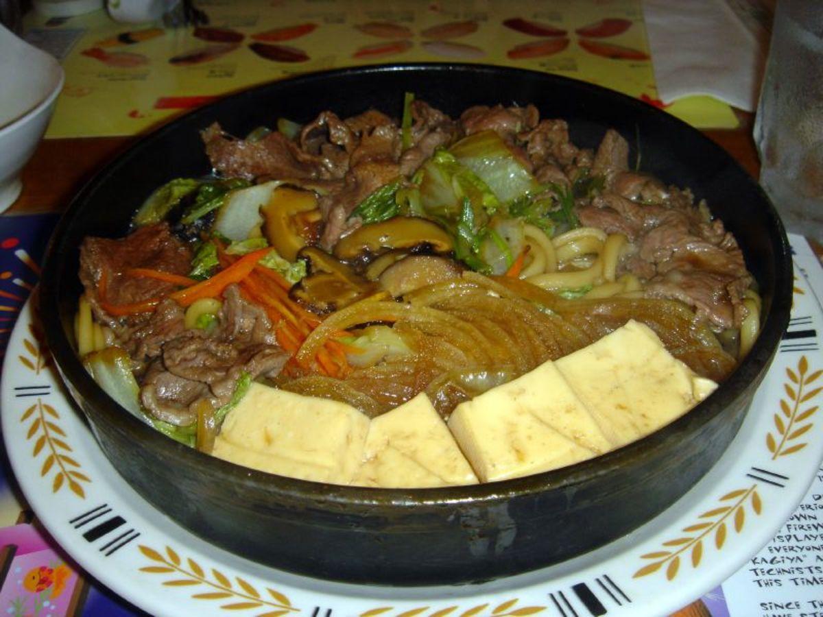 Thai Style Sukiyaki Soup