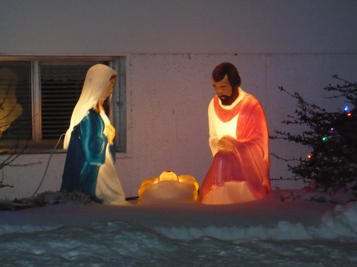 Nativity scene - Bismarck, ND