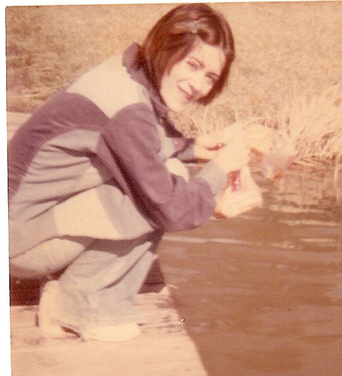Lynda in 1975, still friends.