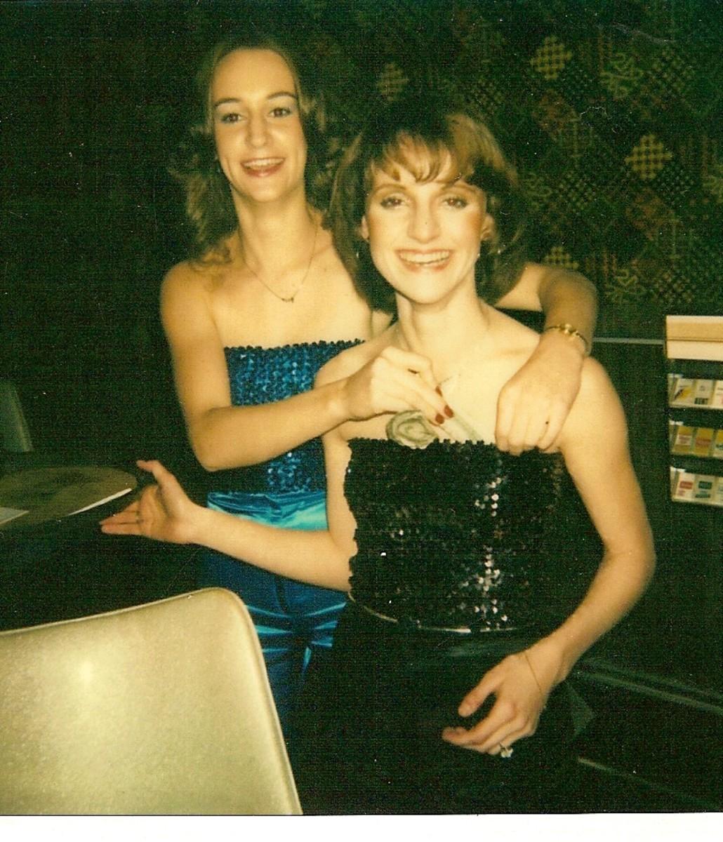 Me & Jennifer, friends since 1975.