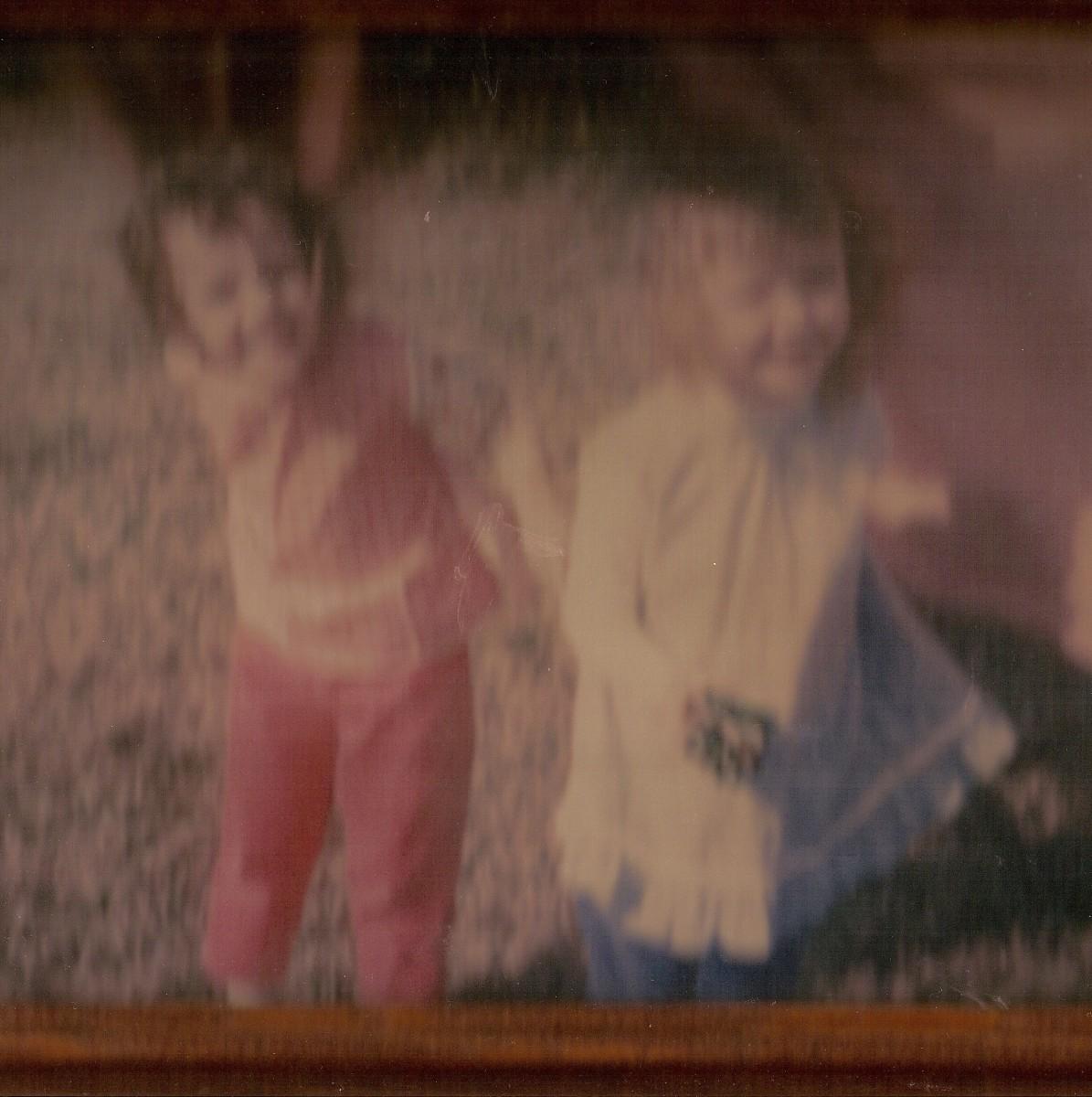 Me & Kathy, friends since age 3!