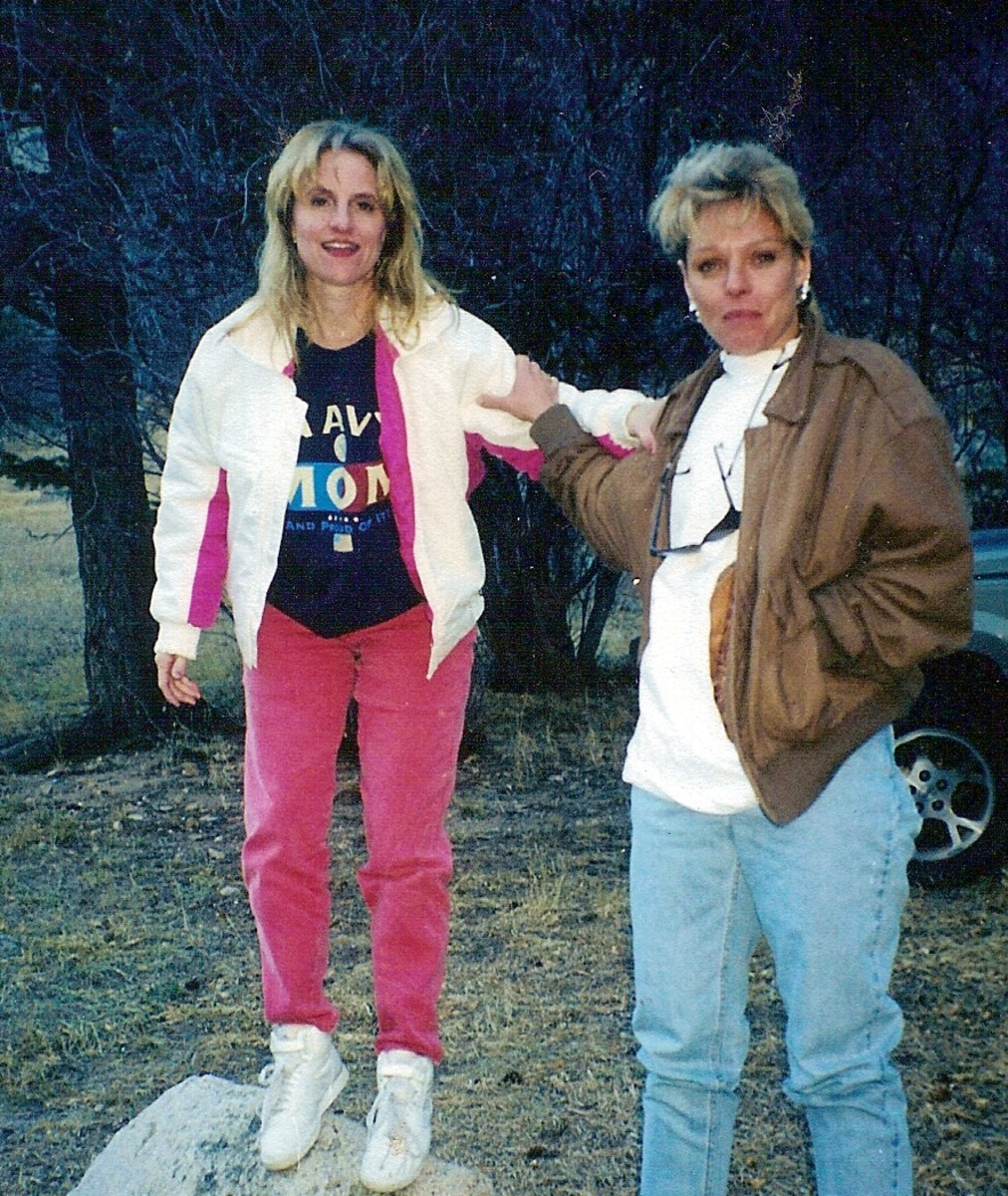 Me & Tami in Colorado in 1998. Haven't seen you in 9 years sister, but I still love ya!