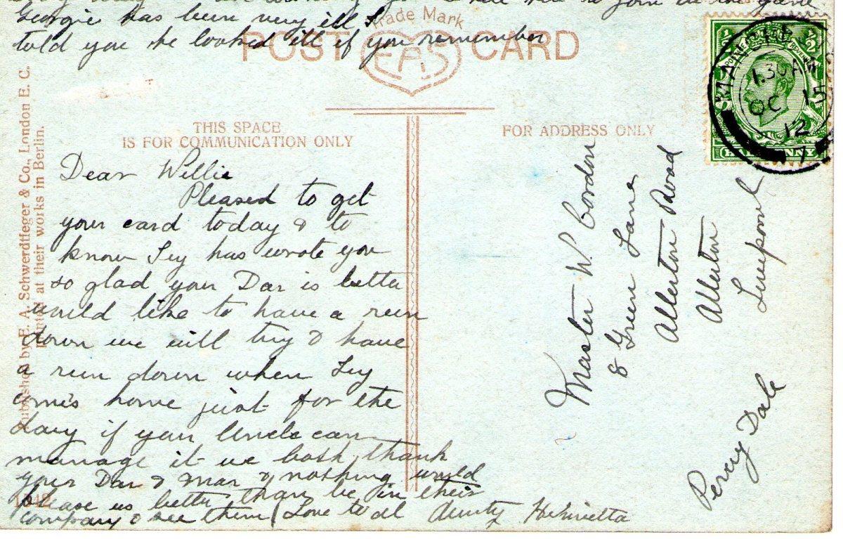 Postcard 1912 1 Reverse