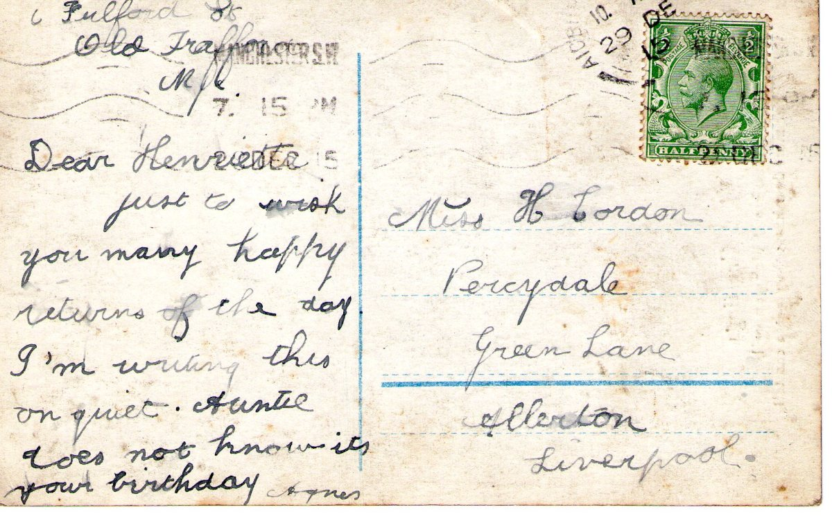 Postcard 1915 7 Reverse