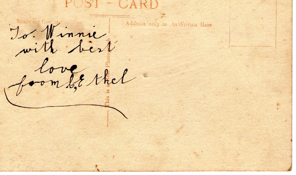 Postcard 1917 5 Reverse
