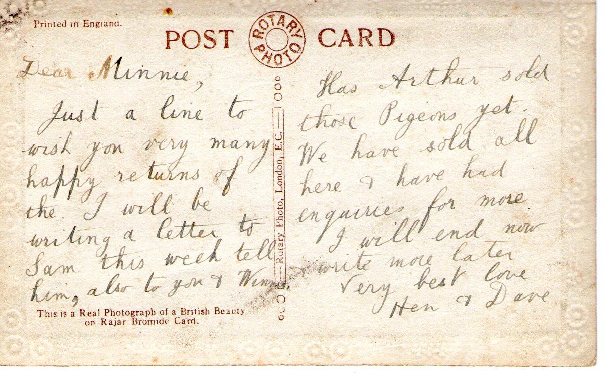 Postcard 16 Reverse