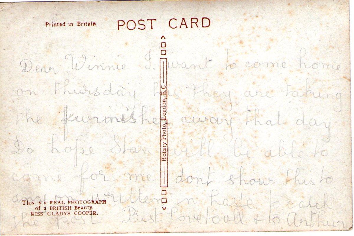 Postcard 26 Reverse