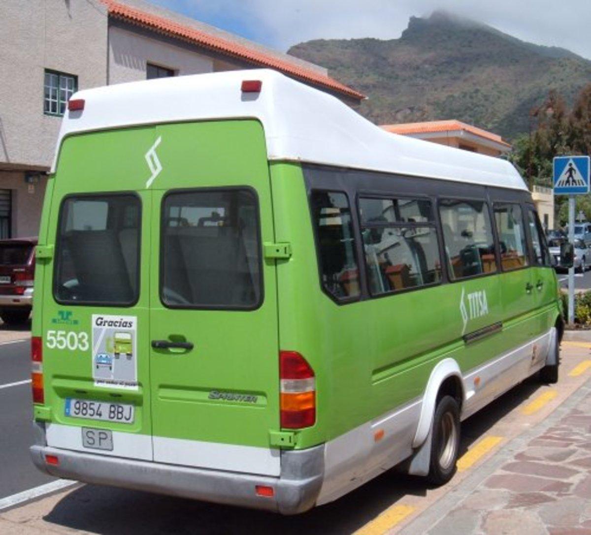 Masca bus Photo by Steve Andrews