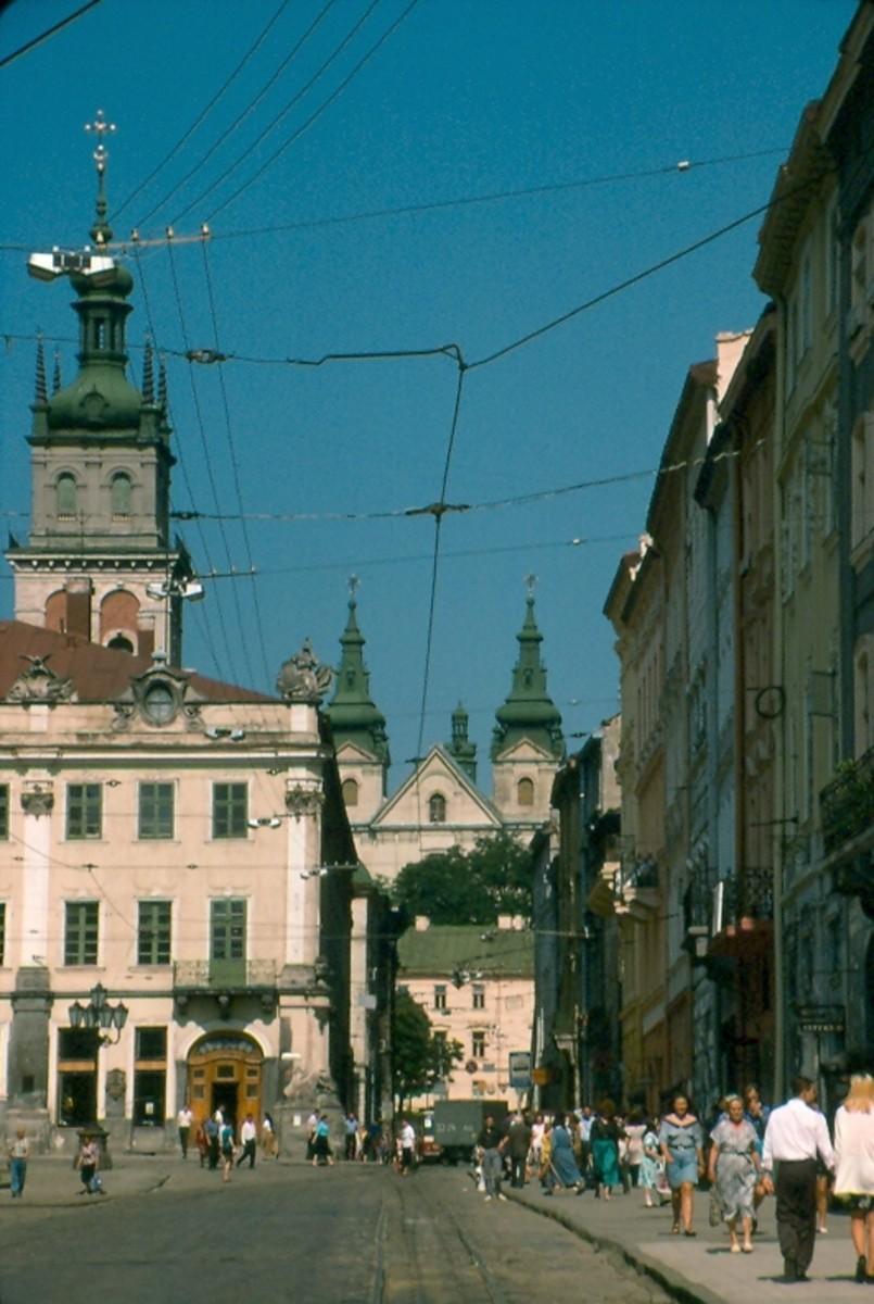 Old Quarter, Lviv, Ukraine.