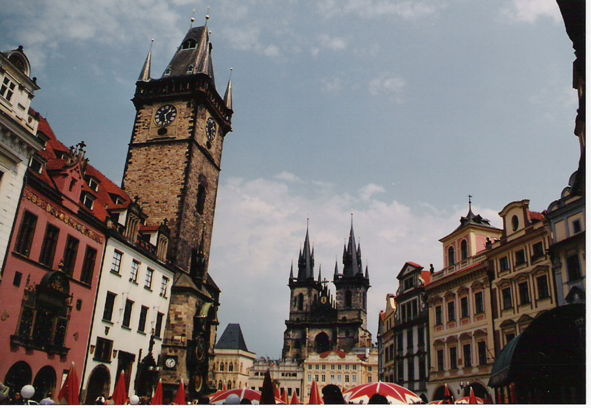 Prague's city center.