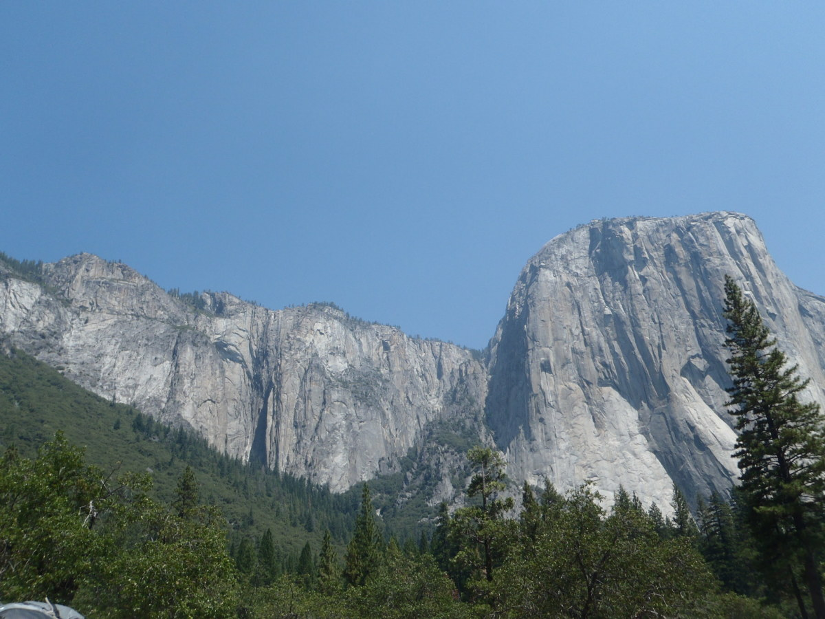 El Capitan, Yosemite National Park, California.  World Heritage Site since 1984.