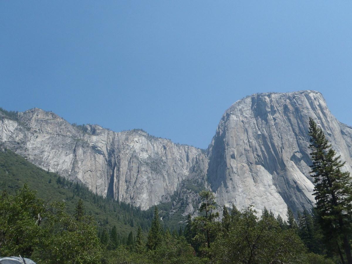 El Capitan, Yosemite National Park, California.  World Heritage Site since 1984.