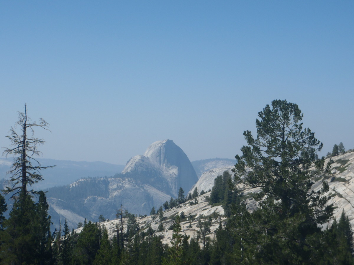 Half Dome, Yosemite National Park, California, from Olmstead Point.