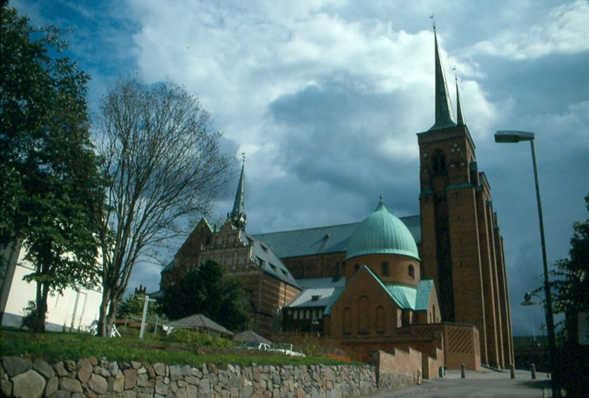 The Cathedral in Roskilde - one of four sites in Denmark recognized as a World Heritage Site.