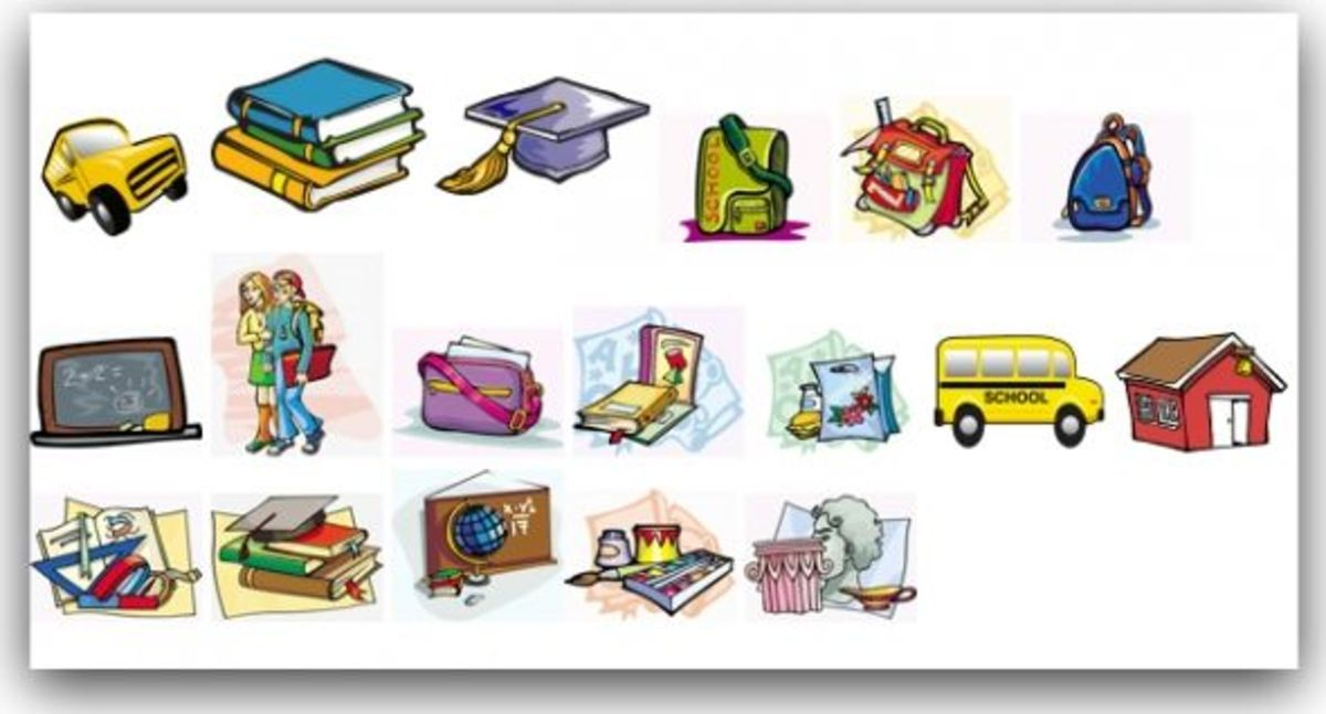 Free Clipart for Teachers and Students, Images for School | hubpages
