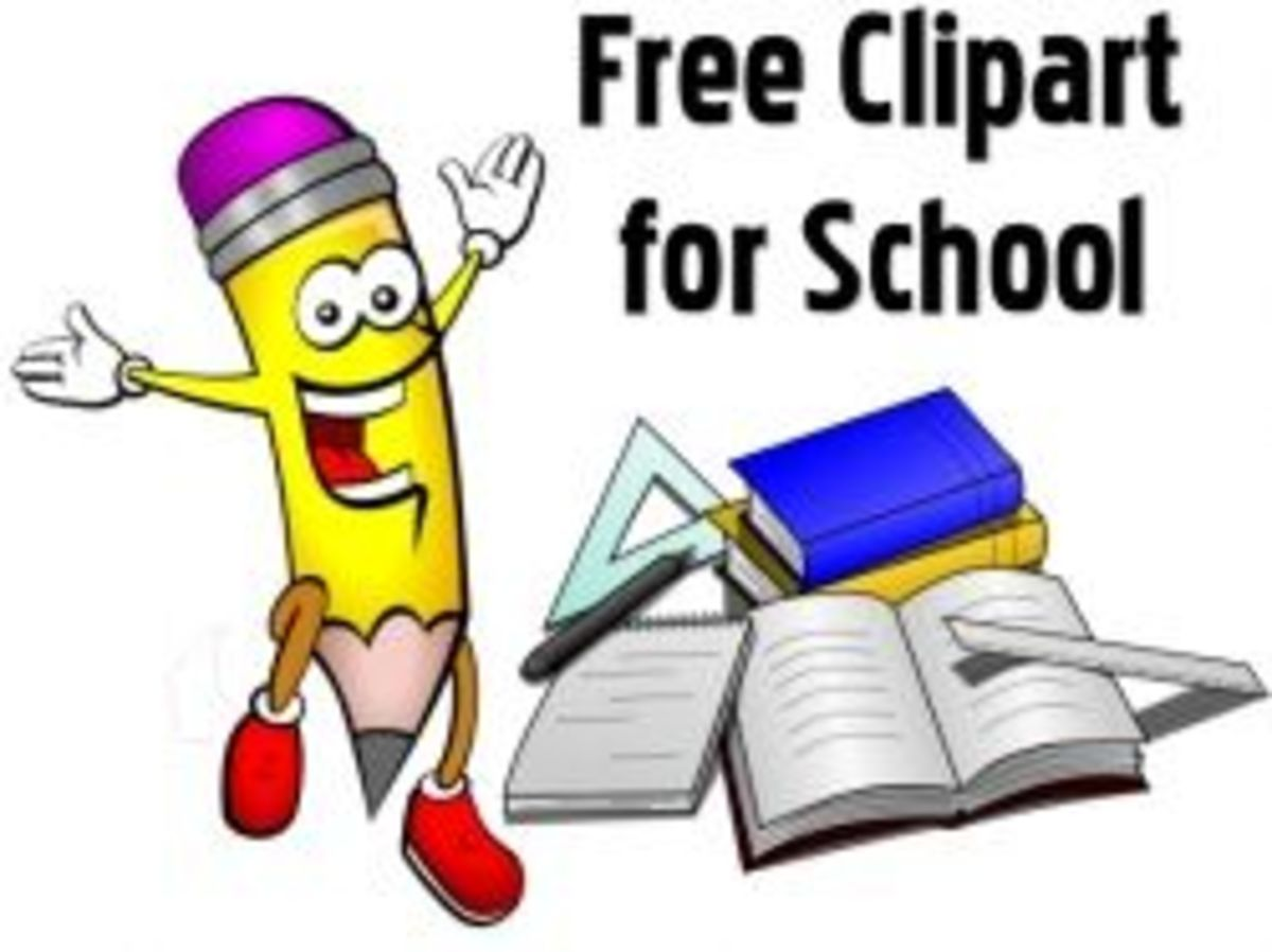 Free Clipart for Teachers and Students, Images for School