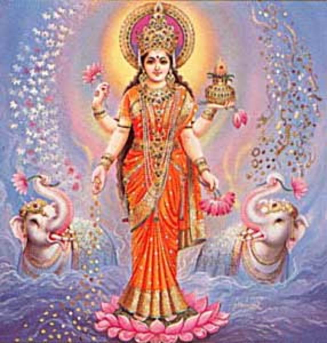 Ancient Sanskrit Chant of Abundance - Om Gum Shrim Maha Lakshmi Yei Swaha