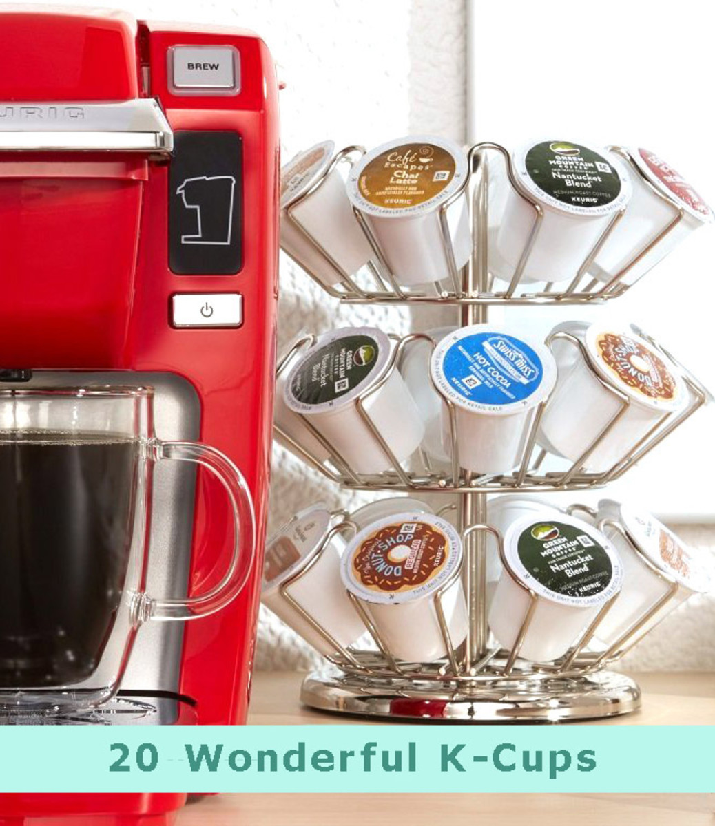 20 Wonderful K-Cups: Coffees, Teas, Cocoas and Herbal Preparations