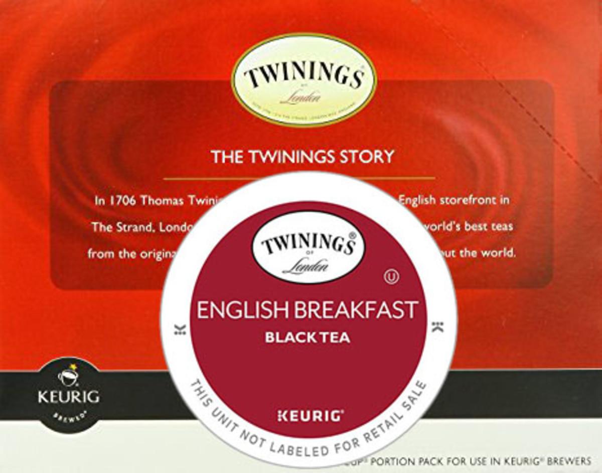 Does twinings english breakfast tea have caffeine