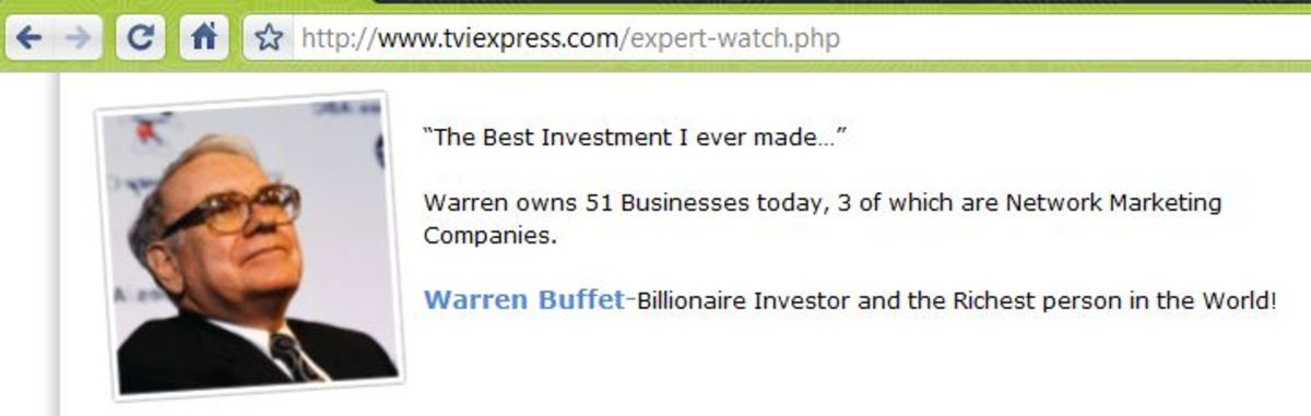 "What TVI Express claimed: ""best investment"""