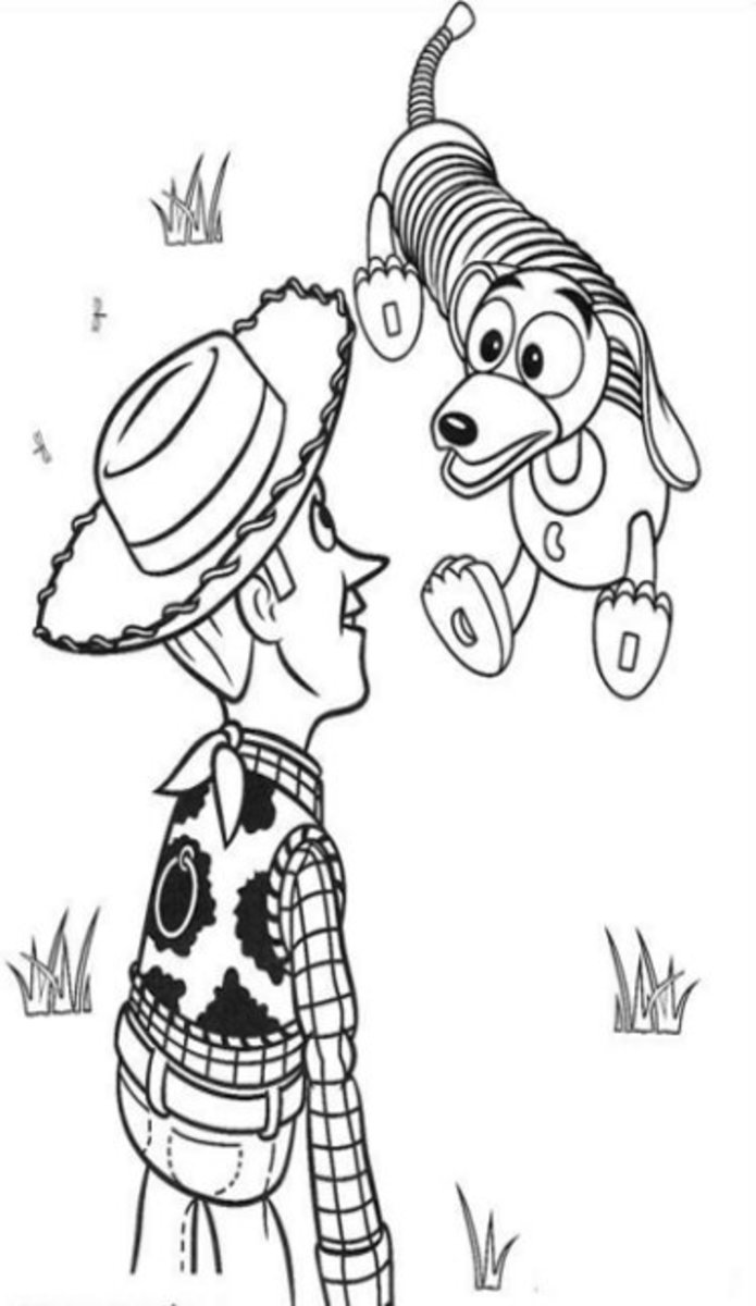 Toy Story 3 Coloring Pages Kids Coloring Pages with Colouring Pictures to Print
