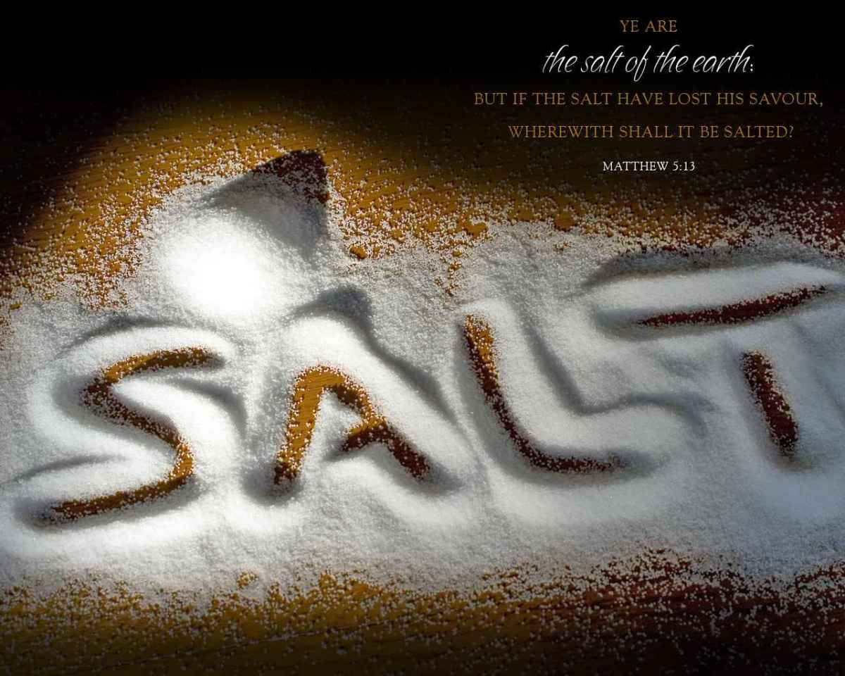 What Does It Mean To Be The Salt of the Earth?