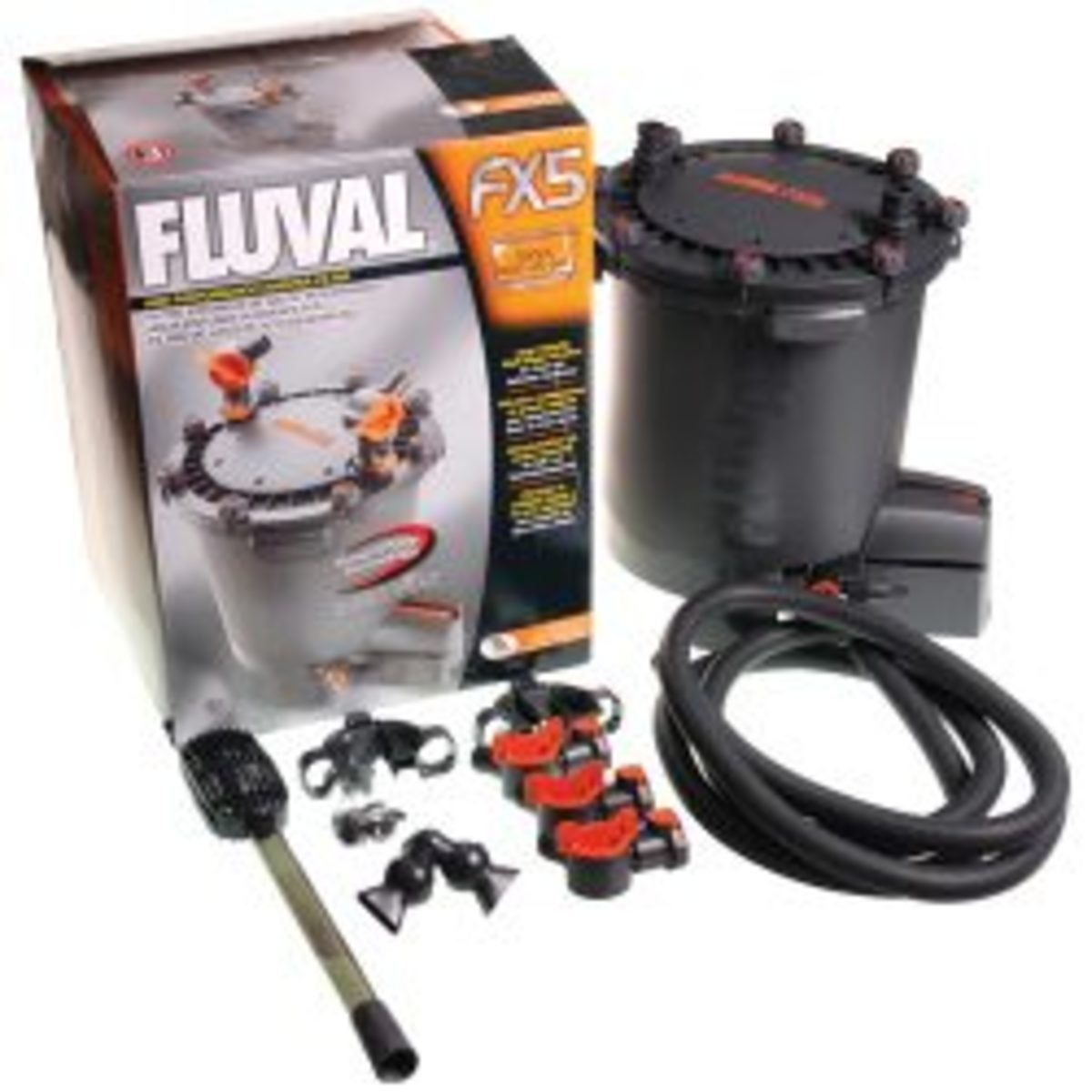 Aquarium Canister Filters: The Fluval FX5 Filter