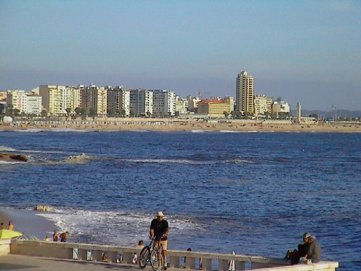 Looking across the bay to Figueira.