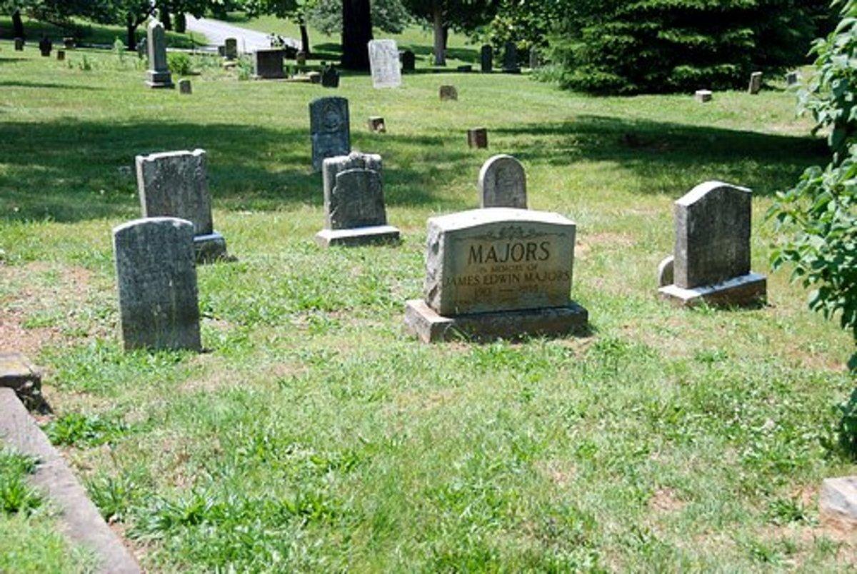 James Edwin Majors and family