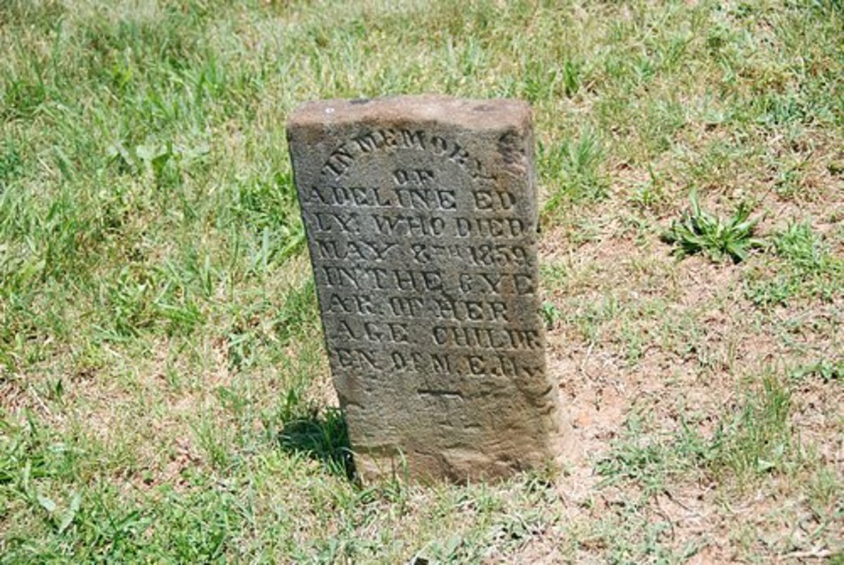 Adeline Edly, Died May 8, 1859