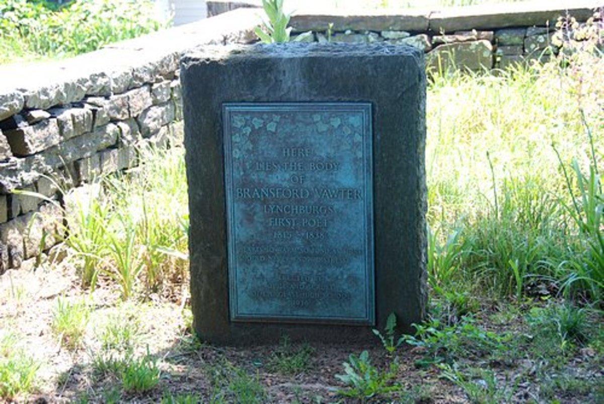 Branson Vawter, First Lynchburg Poet