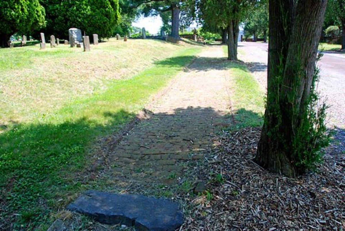 Cobblestone Sidewalk