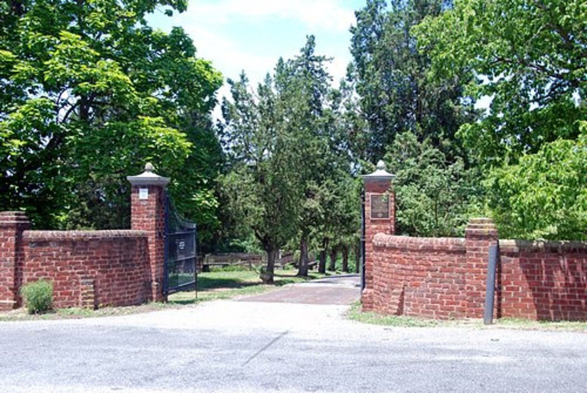 Main Entrance to Old City Cemetery