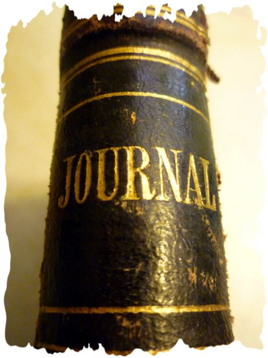 Spine of this old journal